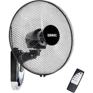 VENTILATEUR Duronic FN55 Ventilateur mural oscillant de 60W –