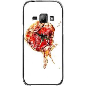 COQUE - BUMPER Coque Silicone Transparente pour Samsung Galaxy J1