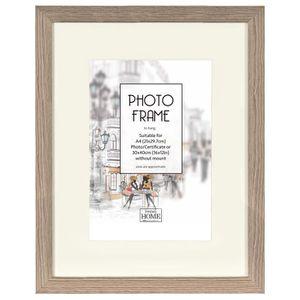 CADRE PHOTO BROCKWOOD ASH Cadre photo 30x40 cm bois A4