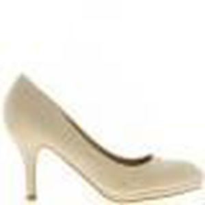 14920af2cfe0d3 ESCARPIN Escarpins femme beiges talon de 8,5cm pointus