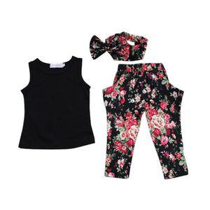 Ensemble de vêtements 1-7 Ans Vêtements Enfants Filles 3PCS Ensemble d'É