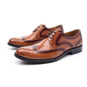 Première couche de vache d'affaires en cuir Chaussures Casual Mocassins & Mules Chaussures pour hommes UWBJU Taille-43 nonzabDLm
