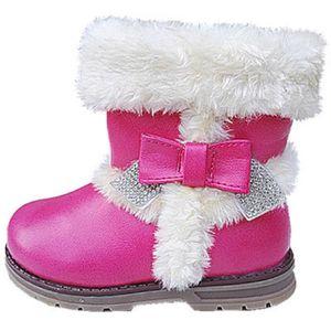 BOTTINE Fashionfolie888 - Filles bébé bottes bottine zip f