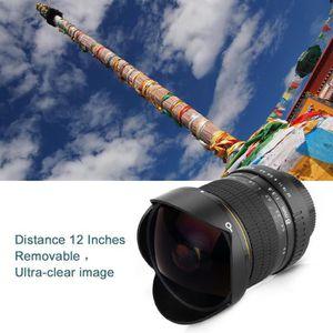 OBJECTIF Lightdow Objectif 8mm F/3.5 Fisheye Lentille Circu