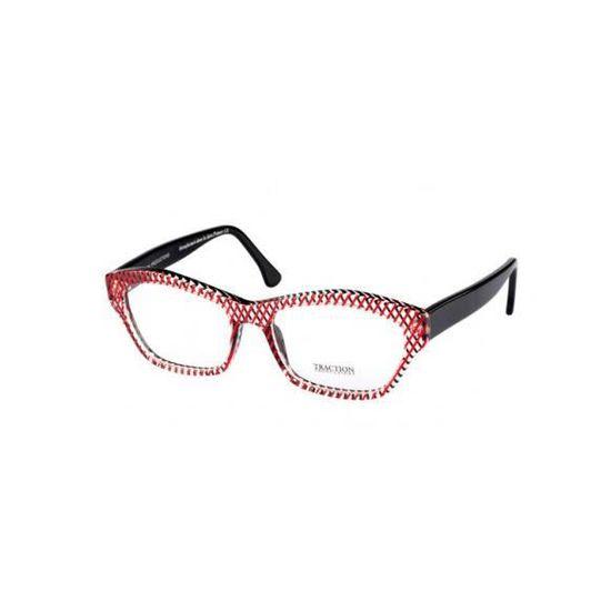 712c46deb5694d Monture lunettes traction baccara Noir, Rouge - Achat   Vente lunettes de vue  Femme - Soldes  dès le 9 janvier ! Cdiscount