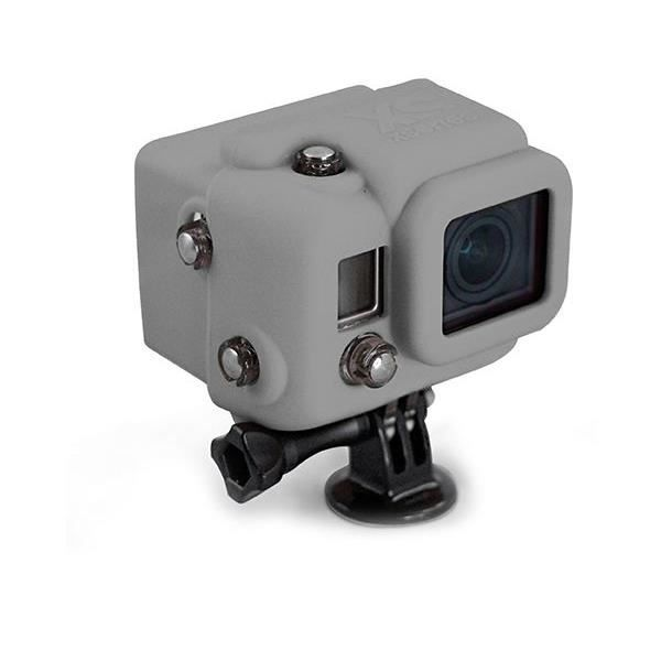 XSORIES Housse en silicone avec Capuche pour GoPro HD Hero3 - Gris