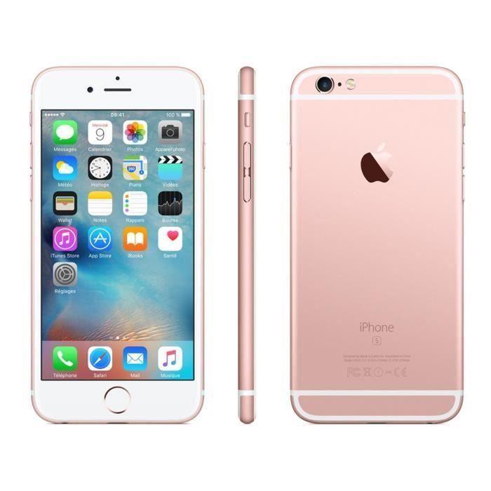 Apple Iphone 6s 32 Go 47 Smartphone Débloqué Reconditionné A Neuf Rose Gold