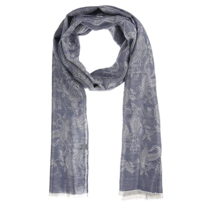 Femme écharpe Wraps Chiffon foulard brillant s effilocher Maxi ... 3044c99962d
