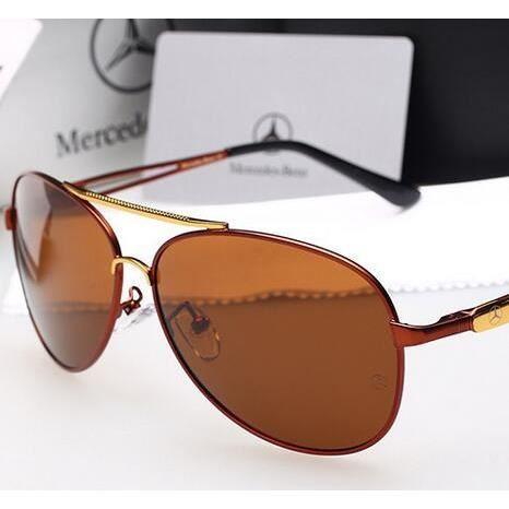b6dc51940d06f 2016 lunettes de soleil polarisées S Mercedes-Benz Fashion nouveaux hommes  de haute qualité des lunettes de soleil miroir pilote lun rouge - Achat    Vente ...