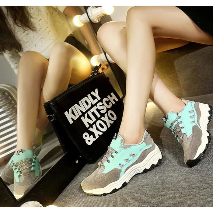 New Style Loisirs Manque Sneaker Femmes