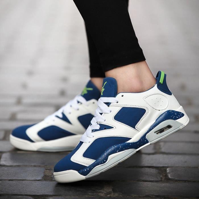 Hommes Air Chaussures Respirantes Mode Femme Ba...
