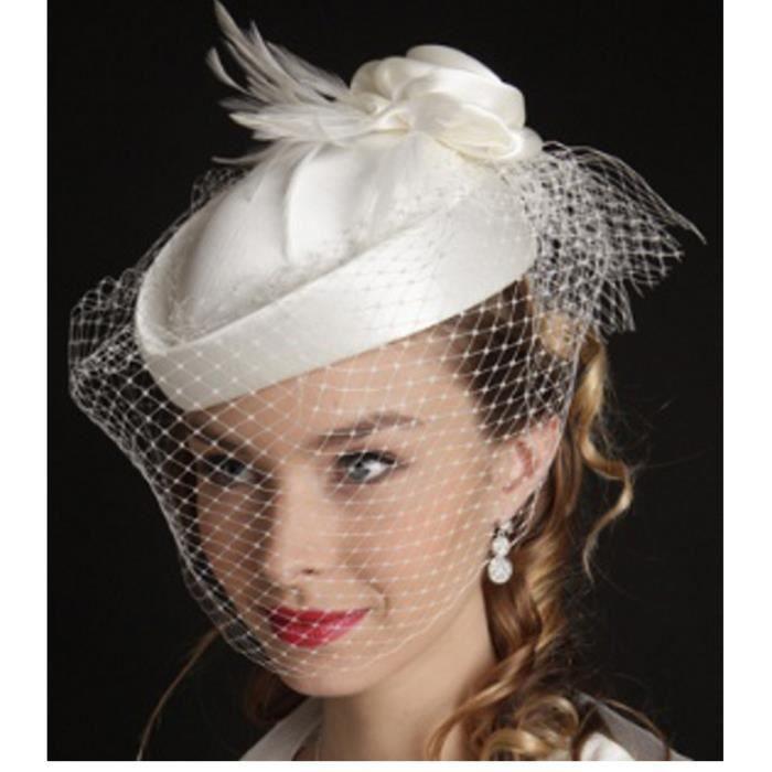 vanity chapeau femme mariage fauvette ivoire achat vente chapeau bob cdiscount. Black Bedroom Furniture Sets. Home Design Ideas