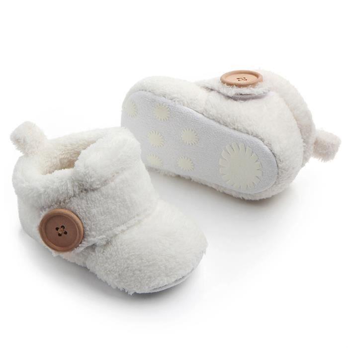 CHAUSSON - PANTOUFLE Beaux bambins premiers marchettes chaussures de bé