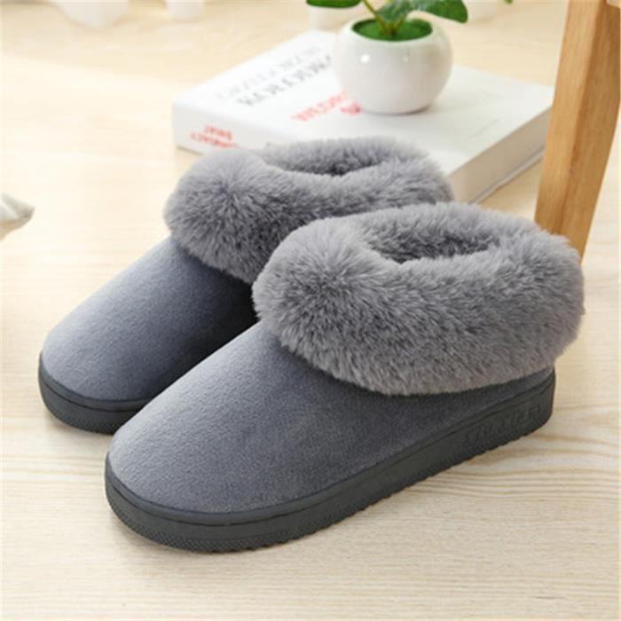 Chaussure Poids Classique Hiver Chaussons Antidérapant Qualité Beau Chausson Léger Confortable Chaud Meilleure Durable Hommes znx5A8Cpwq