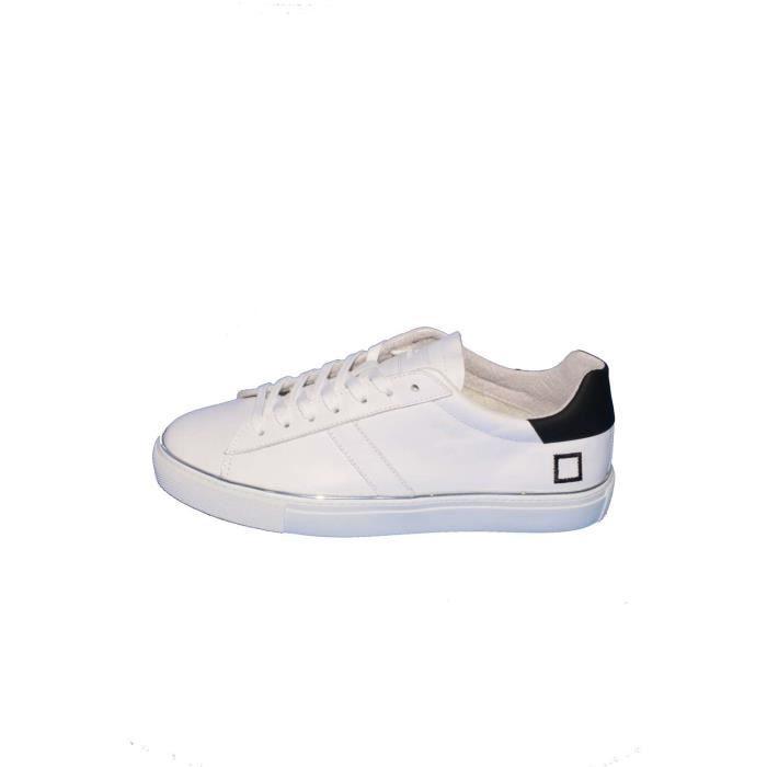 D.a.t.e. Baskets Homme Blanc, 45