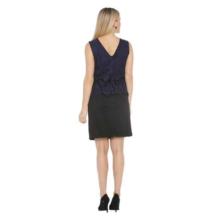 Womens Poly Lycra Dress R2EB3 Taille-34