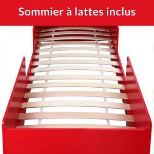 lit enfant camion de pompier achat vente lit enfant camion de pompier pas cher cdiscount. Black Bedroom Furniture Sets. Home Design Ideas