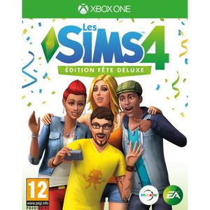 JEU XBOX ONE Sims 4 Edition Fête Deluxe Jeu Xbox One