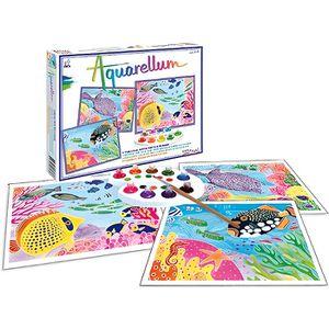 SENTOSPHERE Aquarellum Fonds Coralliens