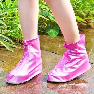 OBJET DÉCORATIF 26cm Mode chaussures imperméables de pluie couvren