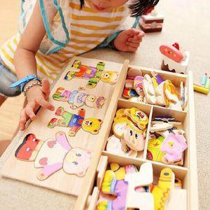 PUZZLE 3 jours livrés 45*25cm Ours puzzle bébé jouet éduc
