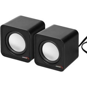 ENCEINTE NOMADE Haut-parleurs d'ordinateur Audiocore AC870B 6W USB