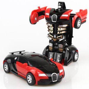 VOITURE ENFANT voiture de sport modifié robot modèle mini déforma