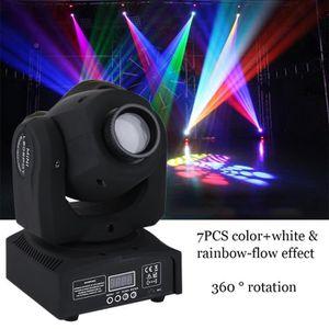 PACK LUMIÈRE  30W LED Lyres de Scène DMX512 Disco Pub Fête Effe