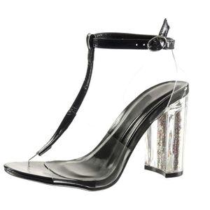 SANDALE - NU-PIEDS Angkorly - Chaussure Mode Sandale salomés sexy fem