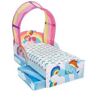 b559c99c7e3afe LIT BÉBÉ Lit Enfant Avec Rangement 70 X 140 Cm P tit Bed De