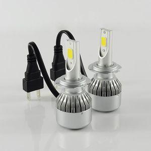 PHARES - OPTIQUES 2pcs LED Ampoules de Phare de Voiture -H7 - 80w 70