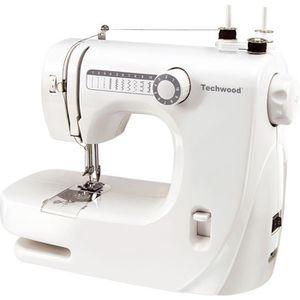 MACHINE À COUDRE TECHWOOD TMAC-608 Machine à coudre - 10 pts - Blan