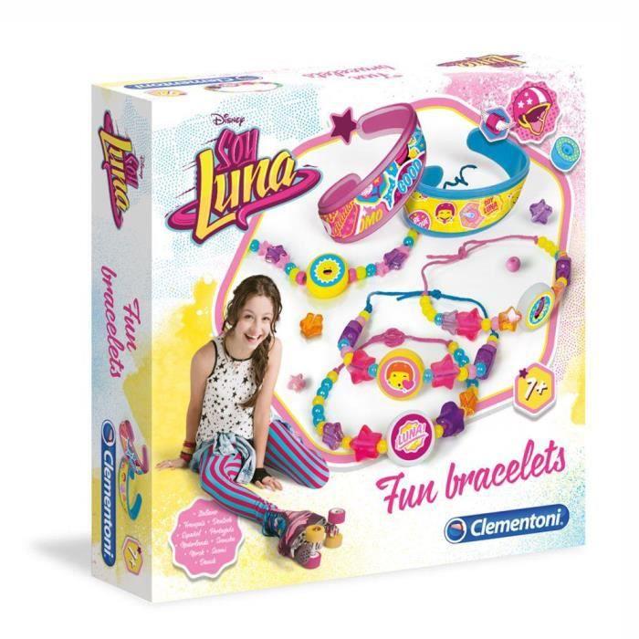 soy luna enfants jeux cr atifs set fun bracelets achat vente bracelet gourmette soy. Black Bedroom Furniture Sets. Home Design Ideas