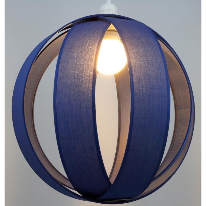 Suspension luminaire anneaux bleu roi metropolight achat for Suspension luminaire soldes
