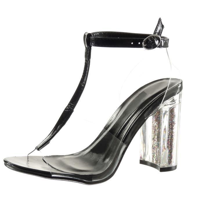Chaussure femme transparente achat vente pas cher - Boite chaussure transparente pas cher ...