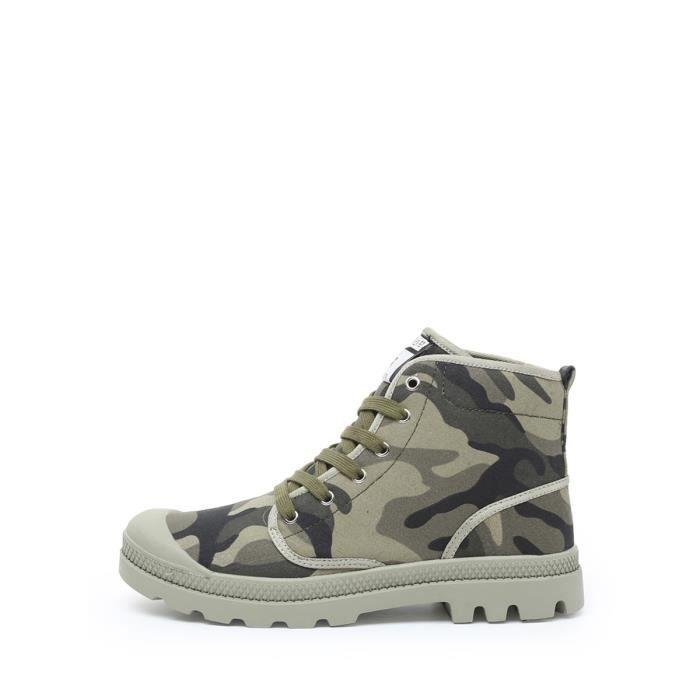 Bottes Camouflage Casual Mode Croisement Comforty Chaussures Durable hommes 3339952 y2OaCApBeS