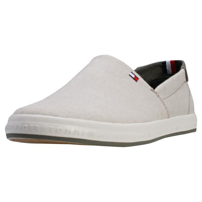 Chaussures Hilfiger Essential Hommes Sans Lacets Pique Denim Tommy tosxQdBhrC