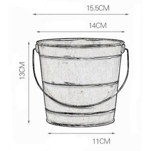 Bonsai Coque 51x39.5x13.5cm ancien-Gris Rectangulaire unglasiert h51160ag