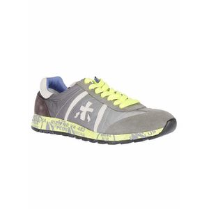 PREMIATA HOMME LUCY1313 GRIS POLYAMIDE BASKETS