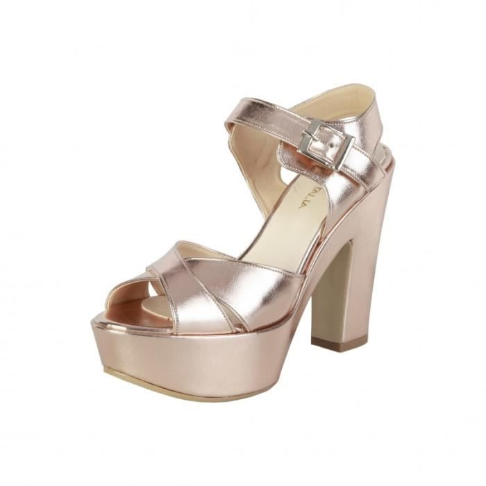 Sandale - Nu-Pieds - Made in Italia - Sandales pour Femme rose Made in Italia
