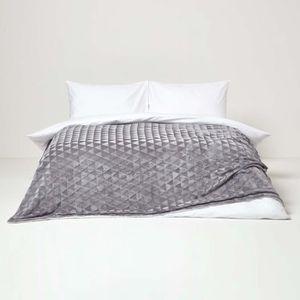 couverture pour lit 160x200 achat vente couverture pour lit 160x200 pas cher cdiscount. Black Bedroom Furniture Sets. Home Design Ideas