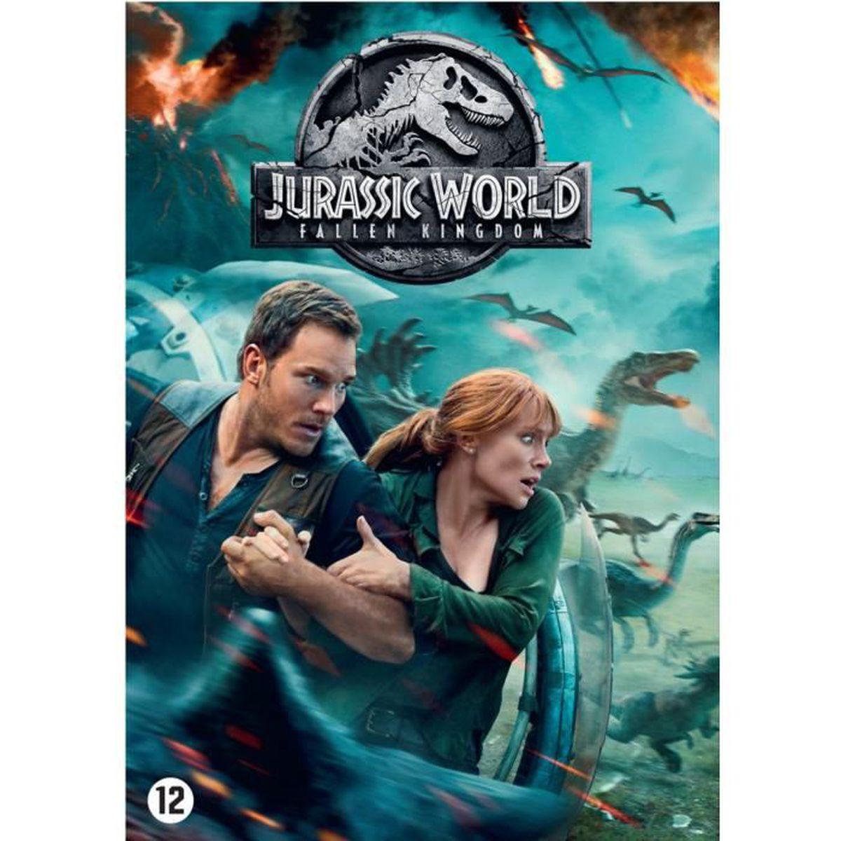 DVD FILM JURASSIC WORLD 2 : Fallen Kingdom