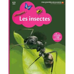 Livre 6-9 ANS Les insectes
