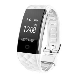 MONTRE CONNECTÉE Smart Montre Connecté Bluetooth 4.0 Sport Fitness