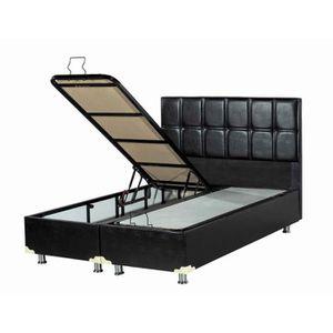 lit coffre complet 160x200 avec matelas achat vente pas cher. Black Bedroom Furniture Sets. Home Design Ideas