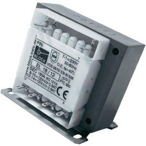 ALIMENTATION Transformateur de sécurité puissance 100 VA pri…