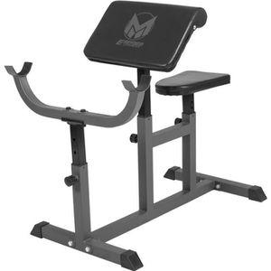 BANC DE MUSCULATION E-Series poste isolé pupitre a biceps
