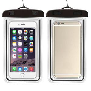 ac81113356768 BIDON - SAC ÉTANCHE sac étanche téléphone Noir sacs de plongée de pisc