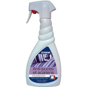 PRODUIT INSECTICIDE Anti-puces et acariens - 500 mL