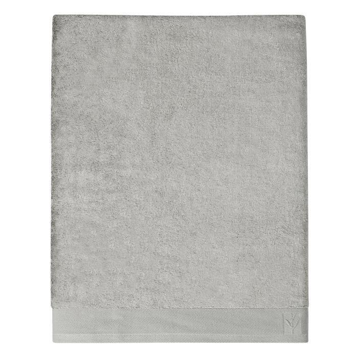 65% Viscose de bambou et 35% Coton - Grammage : 650 gr/m² - Coloris : gris ciment - Dimensions : 100x150 cmSERVIETTE DE BAIN - DRAP DE BAIN